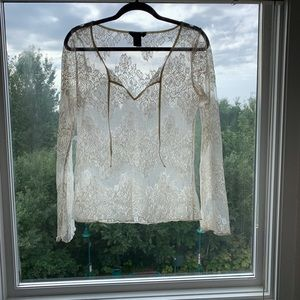 Moda Lace Tunic Top